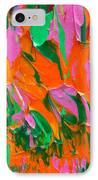 Tangerine And Lime IPhone Case by Donna Blackhall