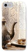 Teatime IPhone Case by Olivier Le Queinec
