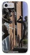 Tebow Spurrier And Wuerffel Uf Heisman Winners IPhone Case