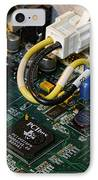 Technology - The Motherboard IPhone Case by Paul Ward
