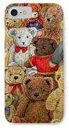 Ted Spread IPhone Case by Ditz