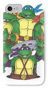 Teenage Mutant Ninja Turtles  IPhone Case by Yael Rosen