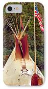 Teepee IPhone Case by Marty Koch