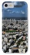 Tel Aviv Center IPhone Case by Ron Shoshani