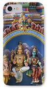 Temple Deity Statues India IPhone Case by Tim Gainey