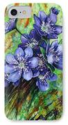 Tenderness Of Spring IPhone Case