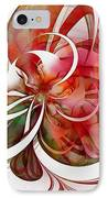 Tendrils 05 IPhone Case by Amanda Moore