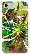 Tendrils 15 IPhone Case by Amanda Moore