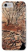 Termite Trails IPhone Case by Kevin Grant