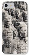 Terracotta Army IPhone Case by Adam Romanowicz