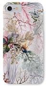 Textile Design IPhone Case by William Kilburn