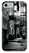 The Alleyway IPhone Case by Michelle Calkins