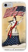 The American Flag A New National Lyric IPhone Case