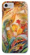 The Angels On Wedding Triptych - Left Side IPhone Case