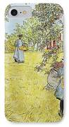 The Apple Harvest IPhone Case by Carl Larsson