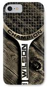 The Art Of Tennis 2 IPhone Case