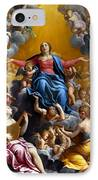 The Assumption Of The Virgin Mary IPhone Case by Guido Reni