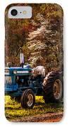 The Autumn Blues IPhone Case