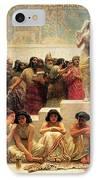 The Babylonian Marriage Market, 1875 IPhone Case by Edwin Longsden Long