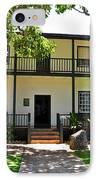 The Baldwin House In Lahaina I IPhone Case