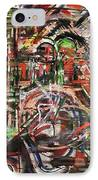 The Beheading Of Creative Impulse Part 2 IPhone Case by Michael Kulick