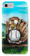 The Big Leagues IPhone Case by Shana Rowe Jackson