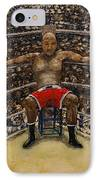 The Boxer IPhone Case by Richard Wandell