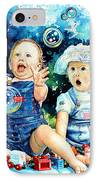 The Bubble Gang IPhone Case by Hanne Lore Koehler