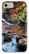 The Cascades Of Chesterfield Gorge IPhone Case by Thomas Schoeller