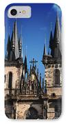 The Church Of Mother Of God In Front Of Tyn IPhone Case by Jelena Jovanovic