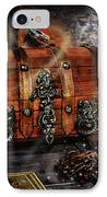 The Coffer Of Spells IPhone Case by Alessandro Della Pietra