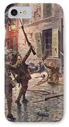 The Coldstream Guards At Landrecies IPhone Case