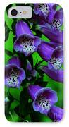 The Color Purple IPhone Case by Kathleen Struckle