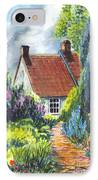 The Cottage Garden Path IPhone Case