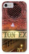 The Cotton Exchange IPhone Case by Cynthia Guinn