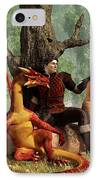 The Courageous Hunters IPhone Case