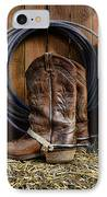 The Cowboy IPhone Case by Paul Ward