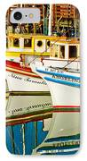 The Crab Fleet IPhone Case by Bill Gallagher