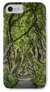 The Dark Hedges IPhone Case by Evelina Kremsdorf