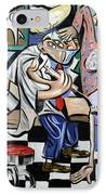 The Dentist Is In IPhone Case by Anthony Falbo