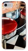 The Drive In IPhone Case by Jeff Klingler