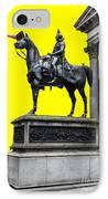 The Duke Of Wellington Yellow IPhone Case