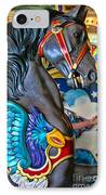 The Eagle And Horse IPhone Case by Colleen Kammerer