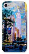 The Empire State Building IPhone Case by Jon Neidert