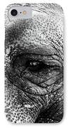 The Eye That Never Forgets IPhone Case by John Rizzuto