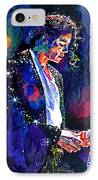 The Final Performance - Michael Jackson IPhone Case by David Lloyd Glover