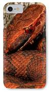 The Florida Cottonmouth IPhone Case