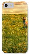 The Fox And The Cow IPhone Case by Bob Orsillo