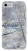 The Frozen Bridge IPhone Case by Maria Angelica Maira