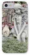 The Garden Fairy IPhone Case by Peggy Hughes